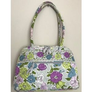Vera Bradley Watercolor Shoulder Bag Handbag